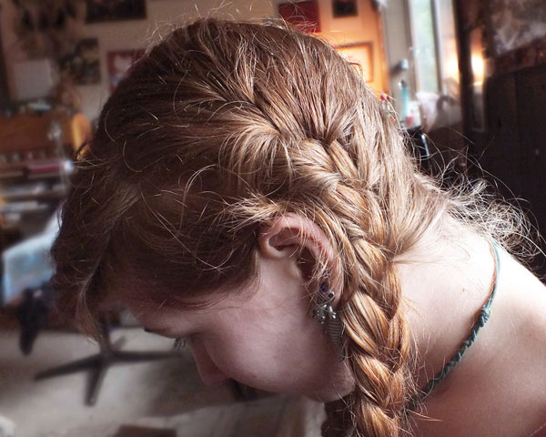 french braid 25 Royal Side Braid Hairstyles