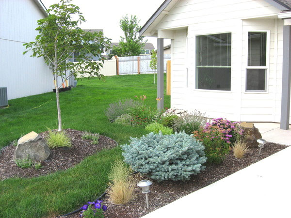 24 Simple Backyard Landscaping Ideas Which Look ... on Simple Small Backyard Ideas id=33736