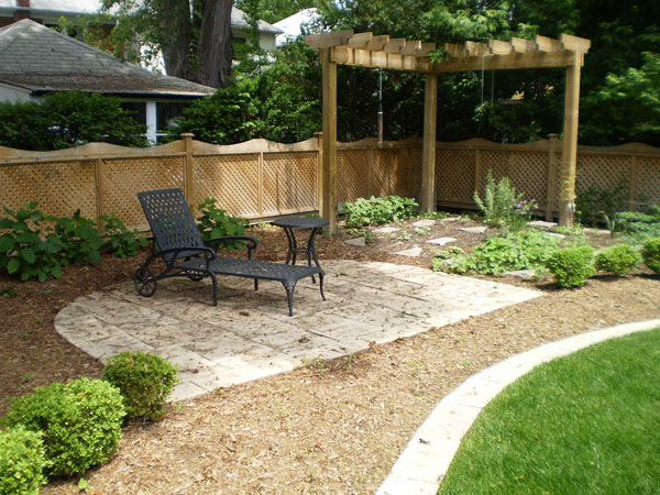 24 Simple Backyard Landscaping Ideas Which Look ... on Simple Small Backyard Ideas id=68095