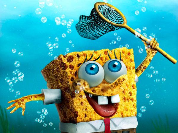 Underwater SpongeBob Fun