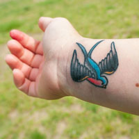 26 Incredible Swallow Tattoos