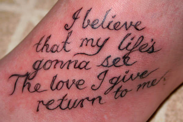 ashley quote 100 Tattoo Quotes You Should Check Before Getting Inked