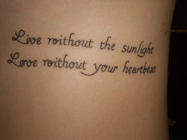 Live For The Sun Quote