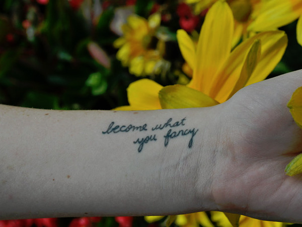 handwriting quote 100 Tattoo Quotes You Should Check Before Getting Inked
