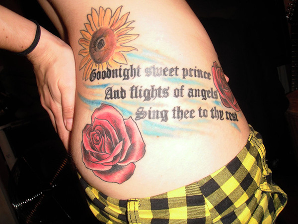 my shakespeare tattoo 100 Tattoo Quotes You Should Check Before Getting Inked