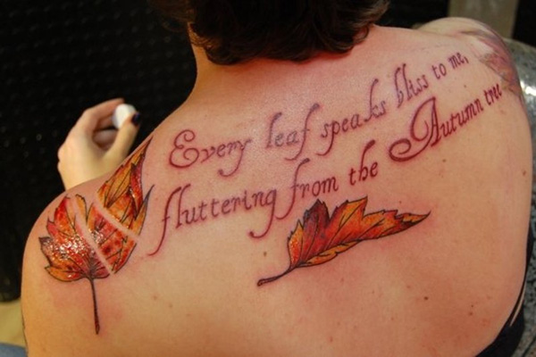 new leaves quotes 100 Tattoo Quotes You Should Check Before Getting Inked