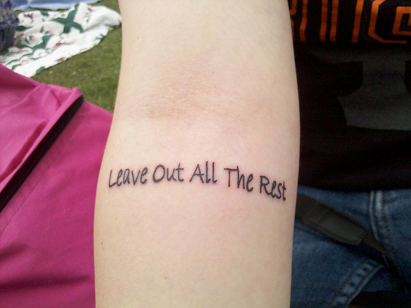 seth alexnder quote 100 Tattoo Quotes You Should Check Before Getting Inked