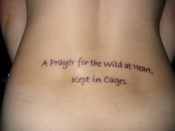 Uncaged Prayer Quote