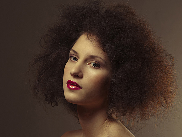 sunny afro 25 Magical TWA Hairstyles