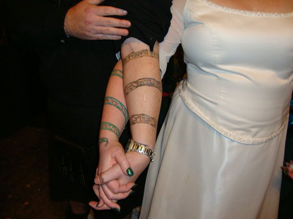 handfasting wedding 25 Unique Wedding Tattoos