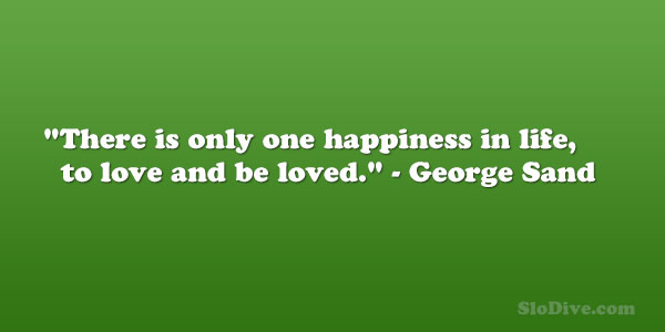 George Sand Quote