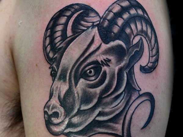 Gorgeous Aries Tattoo