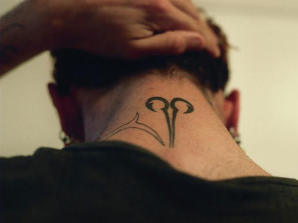 Neck Aries Tattoo
