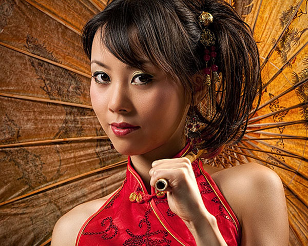 Asian Authentic Hairstyle