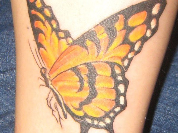 b6c2bfdee Monarch Butterfly Tattoo - 24 Magnificent Collections | Design Press