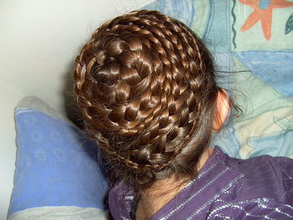 braided beehive 26 Stupendous Braided Hairstyles For Kids
