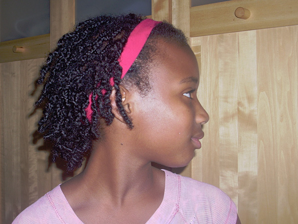 African Girl In Braids