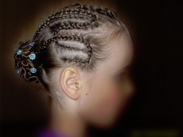 Exquisite Braided Hairdo