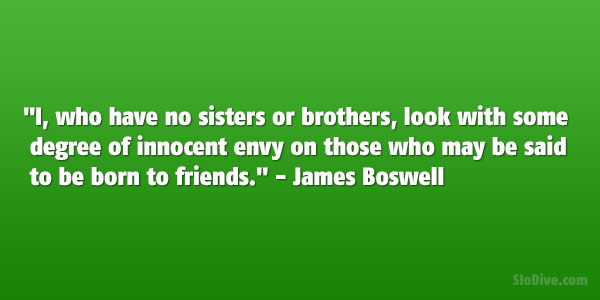 James Boswell Quote