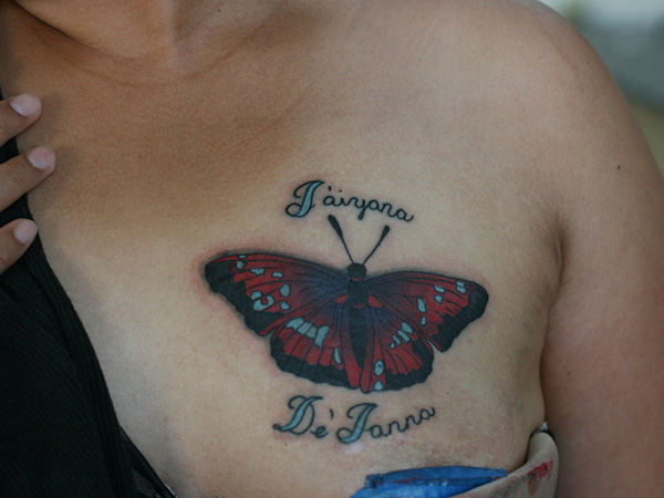 38 Bubbly Butterfly Tattoo Designs For Lovers