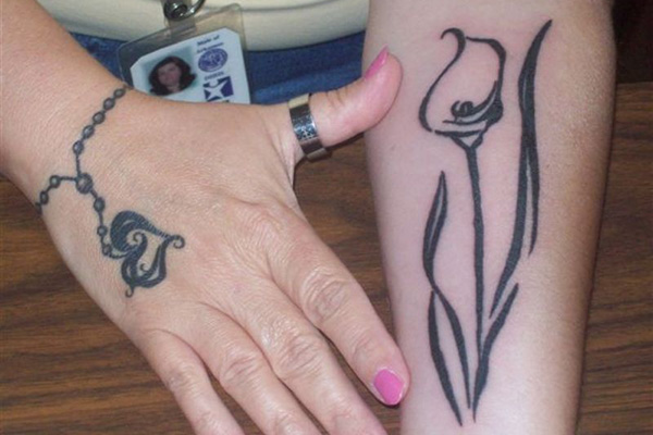 Calla Lily Tattoos