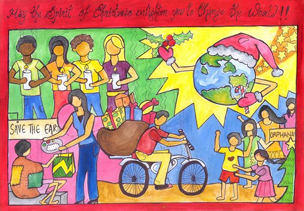 Charity Themes Ideas Charity Theme Card