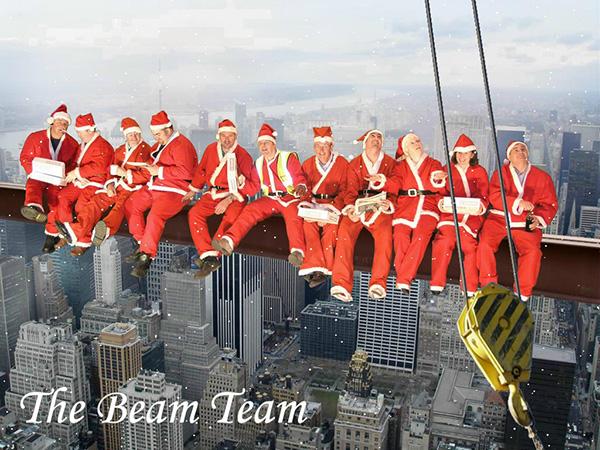 Adventure Theme Christmas Card