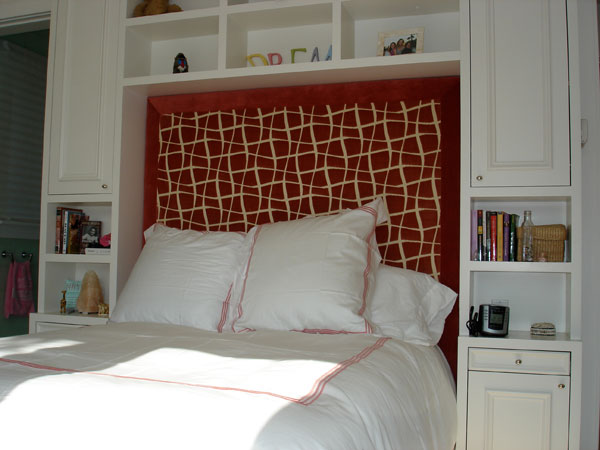 Elegant Mixed and Match Headboard