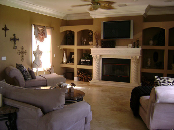 Family Room Vintage Idea