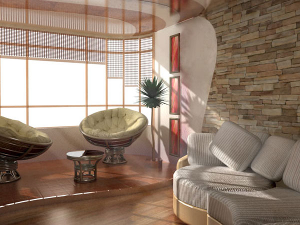 Pocket Sun Living Room