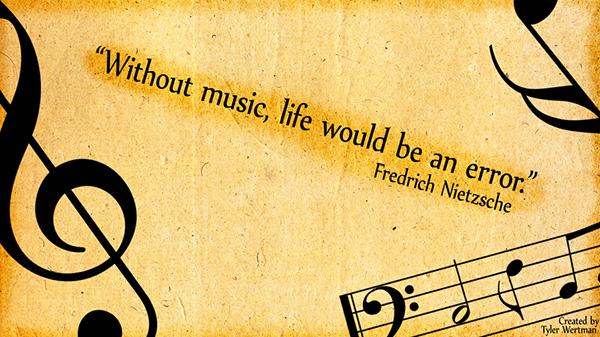 Friedrich Nietzsche Music Quote
