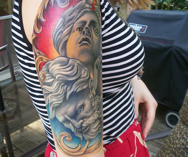 Hold The Attention With These 26 Half Sleeve Tattoo Ideas
