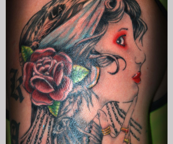 Gypsy Woman Sleeve