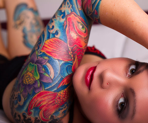 Stunning Sleeve Tattoo