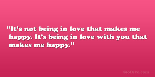 Being In Love Quotes Prepossessing 31 Happy Love Quotes Which Are Overwhelming  Slodive