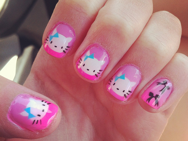 Graceful Hello Kitty Design