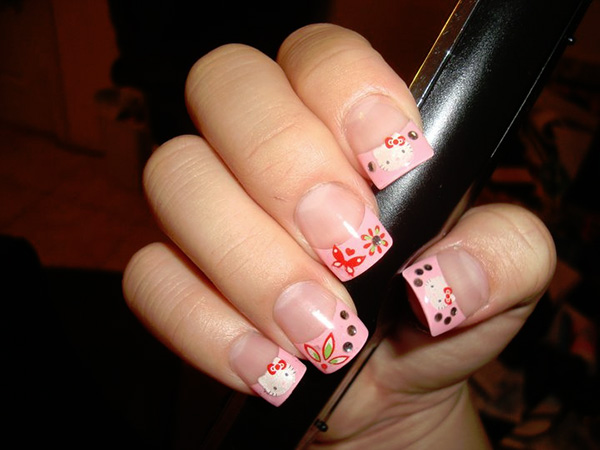Hello Kitty On Tips