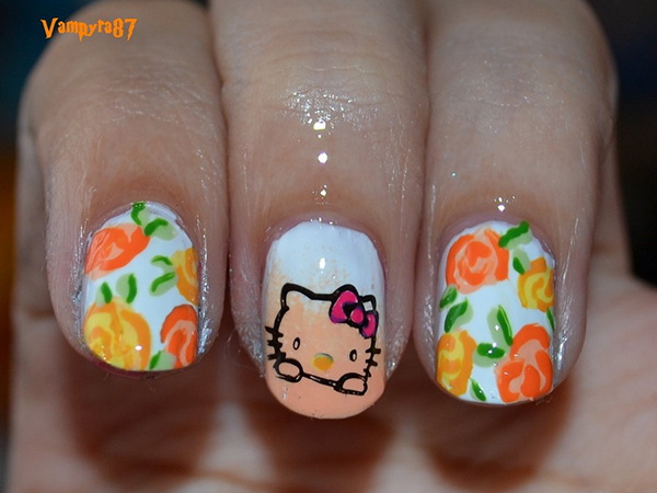 Hello Kitty & Roses