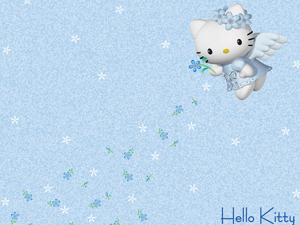 angel 23 Different Hello Kitty Twitter Backgrounds