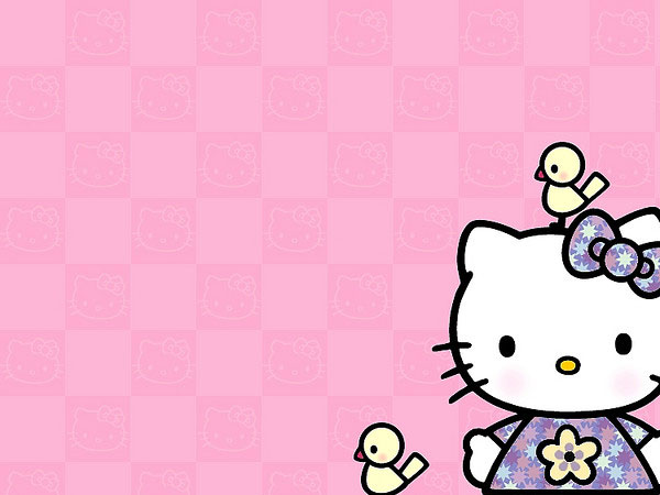 bird 23 Different Hello Kitty Twitter Backgrounds