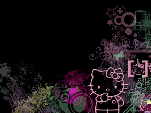 blackpics 23 Different Hello Kitty Twitter Backgrounds