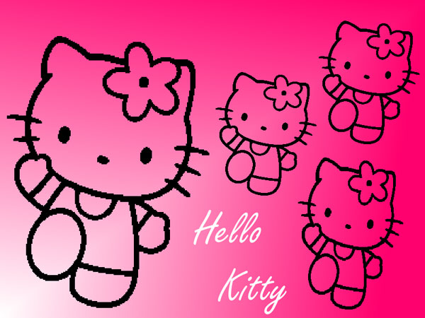 darkpink 23 Different Hello Kitty Twitter Backgrounds