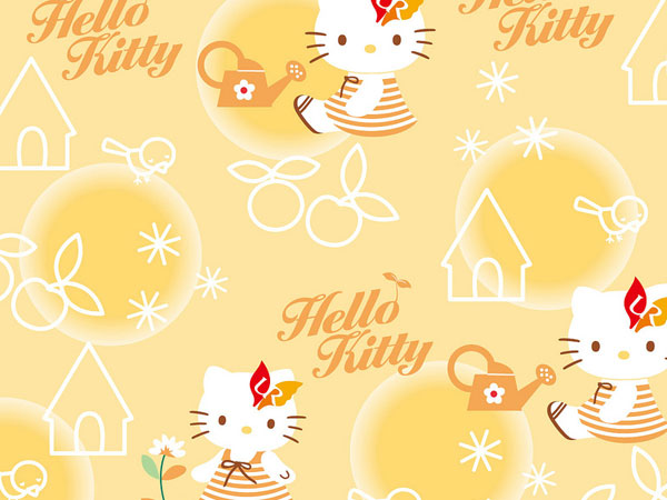 kitty pixel 23 Different Hello Kitty Twitter Backgrounds