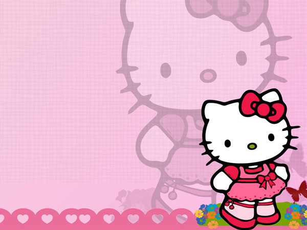 little 23 Different Hello Kitty Twitter Backgrounds