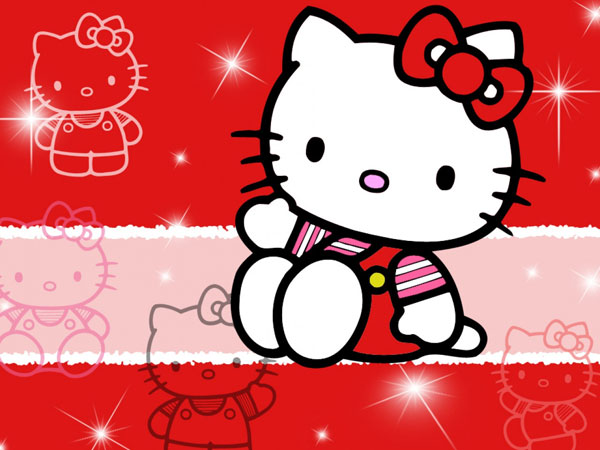 nicepics 23 Different Hello Kitty Twitter Backgrounds