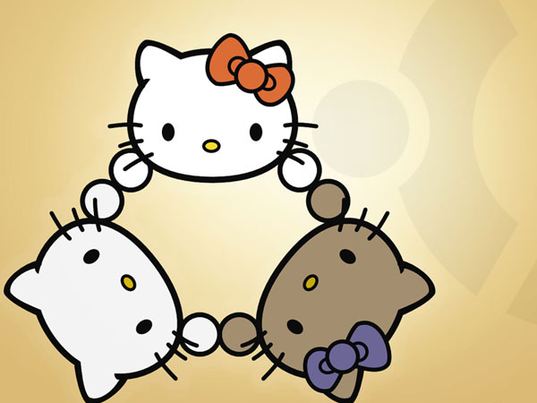threekitty 23 Different Hello Kitty Twitter Backgrounds