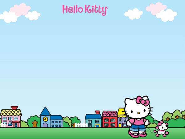 town 23 Different Hello Kitty Twitter Backgrounds