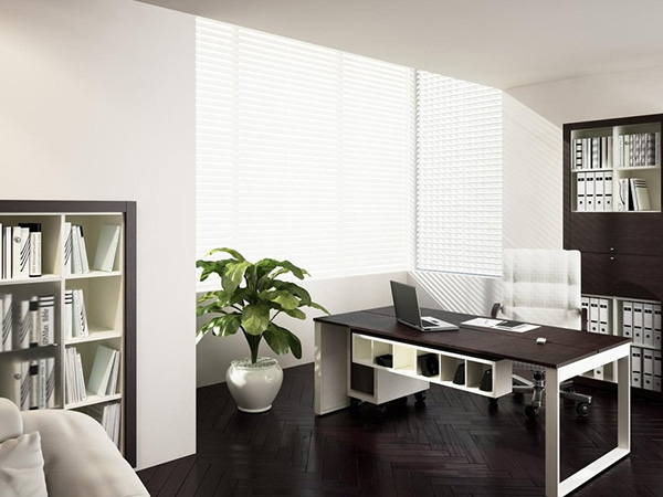 White Base Home Office