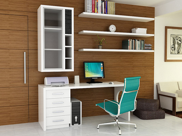Single Wall Home Office