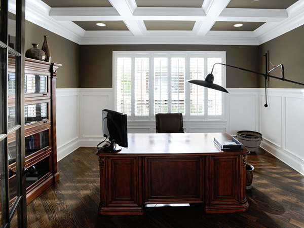 Antique Feel Home Office